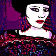 Geisha 3 Art Print