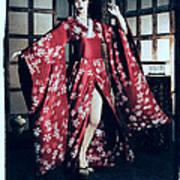 Geisha Art Print by Maynard Ellis
