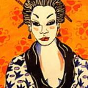 Geisha No. 1 Art Print