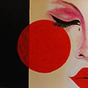 Geisha Tear Art Print
