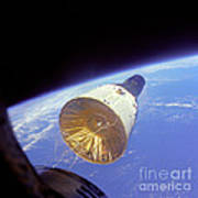 Gemini 6 Views Gemini 7 Art Print