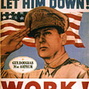General Douglas Macarthur Art Print