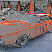 General Lee One Art Print