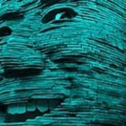 Gentle Giant In Turquois Art Print