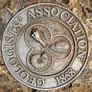 Geologists' Association 1858 Art Print