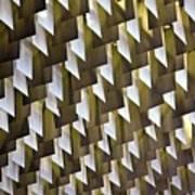Geometric Ceiling Art Print by Gerard Hermand