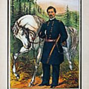 George B. Mcclellan, 1864 Art Print