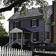 George Peers House Appomattox Virginia Art Print