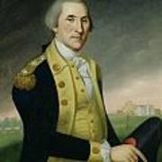 George Washington At Princeton Art Print