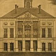 George Washingtons First Inauguration Art Print by Everett