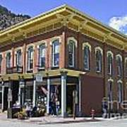 Georgetown Colorado On Canvas Art Print