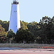 Georgetown Light Winyah Bay Sc Art Print