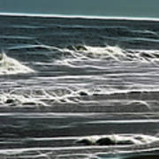 Georgia - Ocean Sparks Art Print