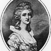 Georgiana Shipley (1752-1806) Art Print