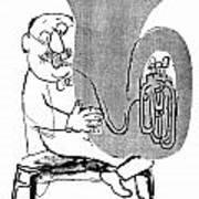 Gerard Hoffnung (1925-1959) Art Print
