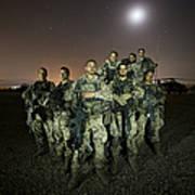 German Army Crew Poses Art Print