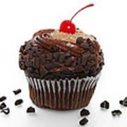 German Chocolate Cupcake Art Print