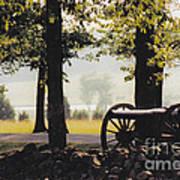 Gettysburg Artillery Art Print