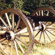 Gettysburg Cannon Art Print