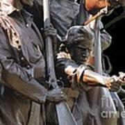 Gettysburg Monument Art Print