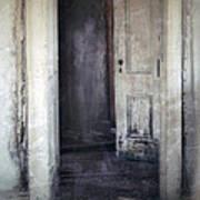 Ghost Girl In Hall Art Print by Jill Battaglia