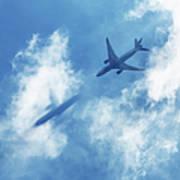 Ghost Plane Art Print