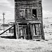 Ghost Town Remains Art Print