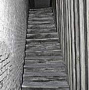 Ghost Town Stairs Bodie California Art Print