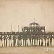 Ghostly Pier Art Print