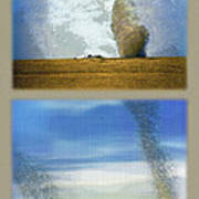 Giant Dust Devils Diptych Art Print