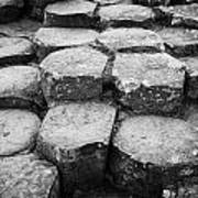 Giants Causeway Stones Northern Ireland Art Print