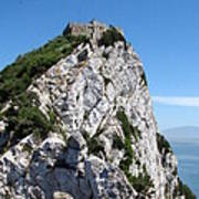 Gibraltar's Moorish Castle Art Print