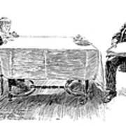 Gibson: Breakfast, 1898 Art Print