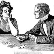 Cards, 1900 Art Print