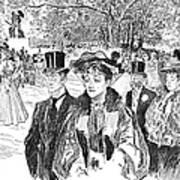 Gibson: Church Parade Art Print