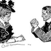 Gibson: Couple, 1896 Art Print