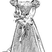 Gibson: Gibson Girl, 1897 Art Print