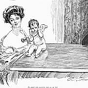 Gibson: Gibson Girl, 1901 Art Print