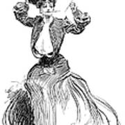 Gibson: Gibson Girl, 1904 Art Print