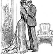Kiss, 1903 Art Print