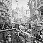Gin Lane, William Hogarth Art Print