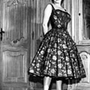 Gina Lollobrigida, 1950s Art Print by Everett