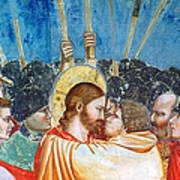 Giotto: Betrayal Of Christ Art Print