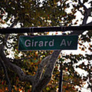 Girard Avenue In Philadelphia Art Print