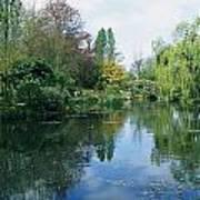 Giverny Gardens, Normandy Region Art Print