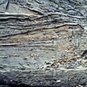 Glacial Sediments Art Print