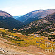 Glacier Cirque - Rocky Mountain National Park Art Print