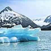 Glacier Remnants Art Print