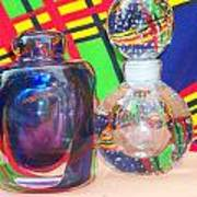 Glass Light And Color Series 4  Art Print