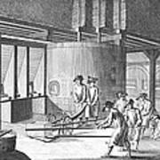 Glass Manufacture, 1751 Art Print